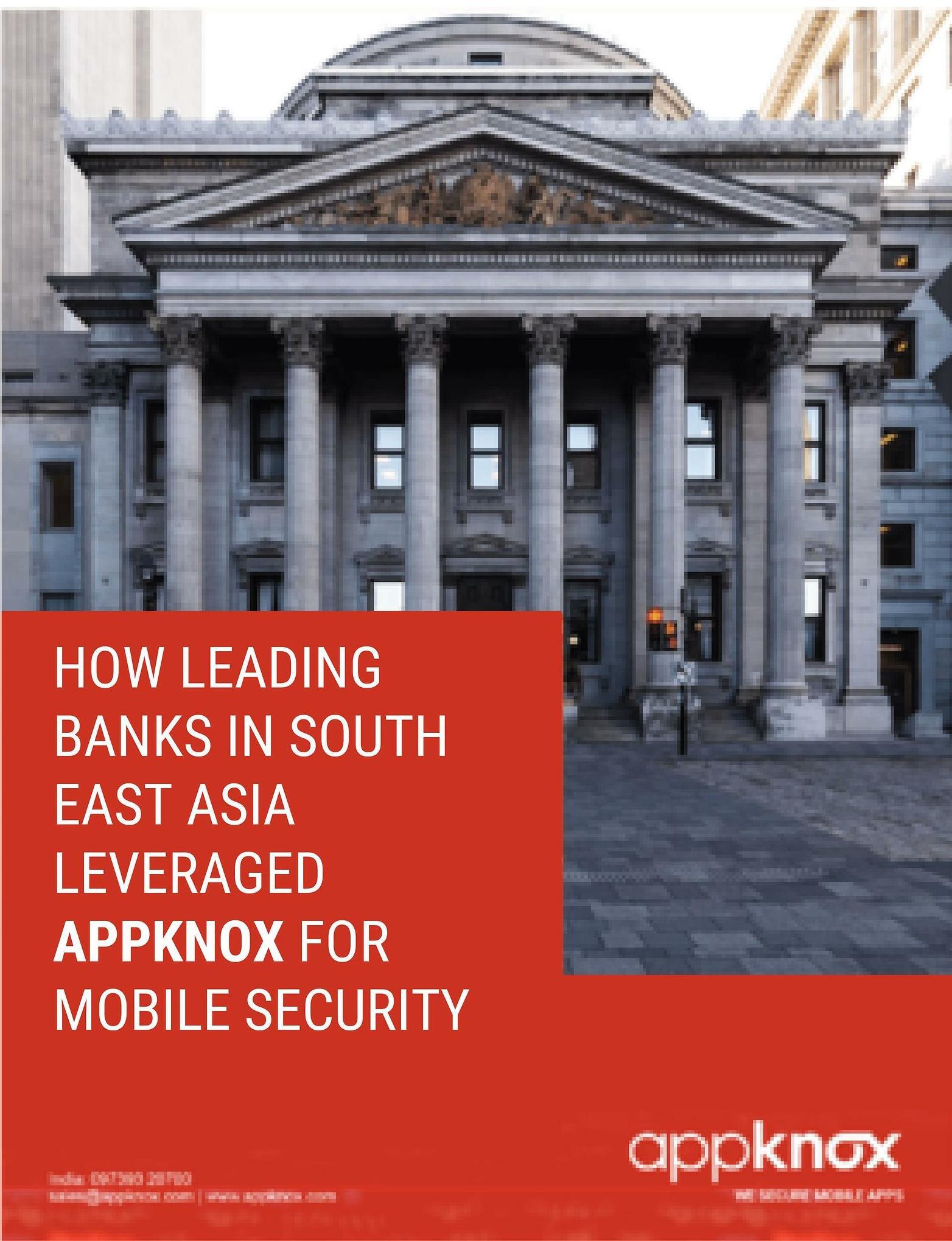 Appknox banking white paper