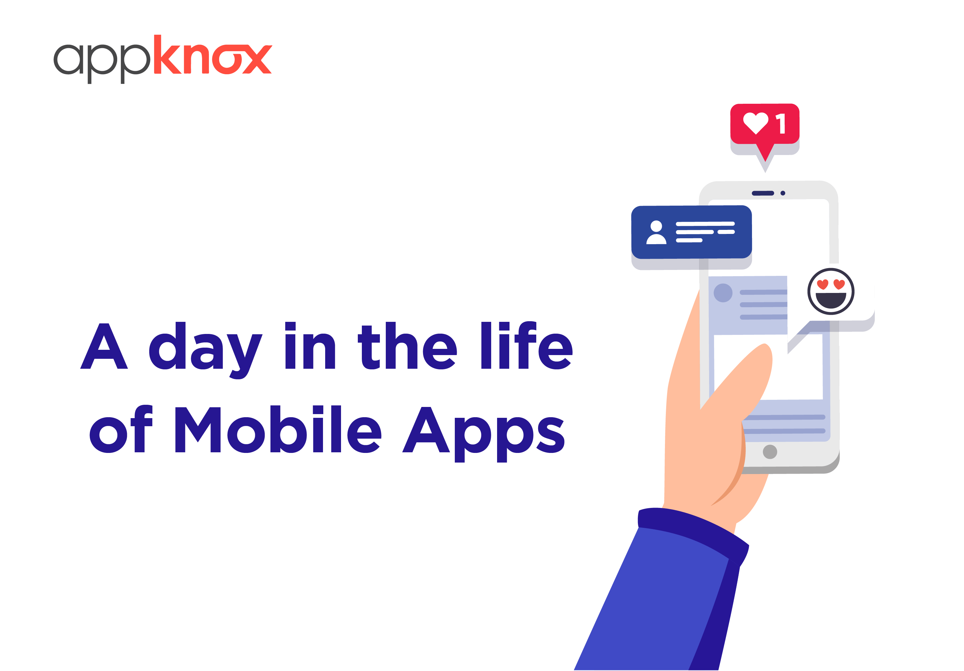 INFOGRAPHICS - A Day in Todays Life of Mobile Apps